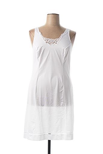 Jupon /Fond de robe blanc ARTEL pour femme