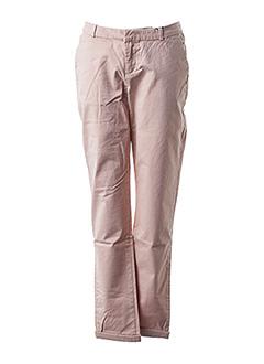Pantalon casual rose SCOTCH & SODA pour femme