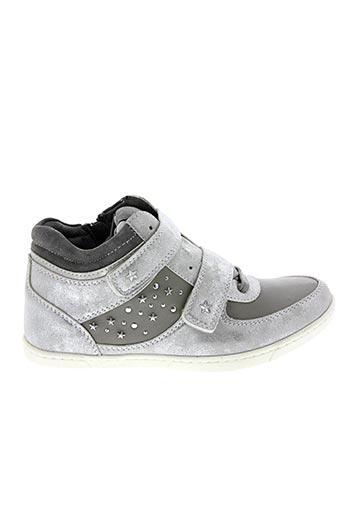 Baskets gris BOPY pour femme