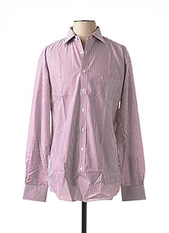 Chemise manches longues rose BEN GREEN pour homme