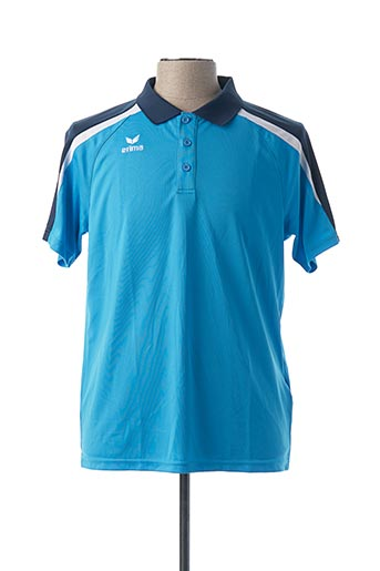 Polo manches courtes bleu ERIMA pour homme