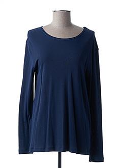 T-shirt manches longues bleu KATMAI pour femme