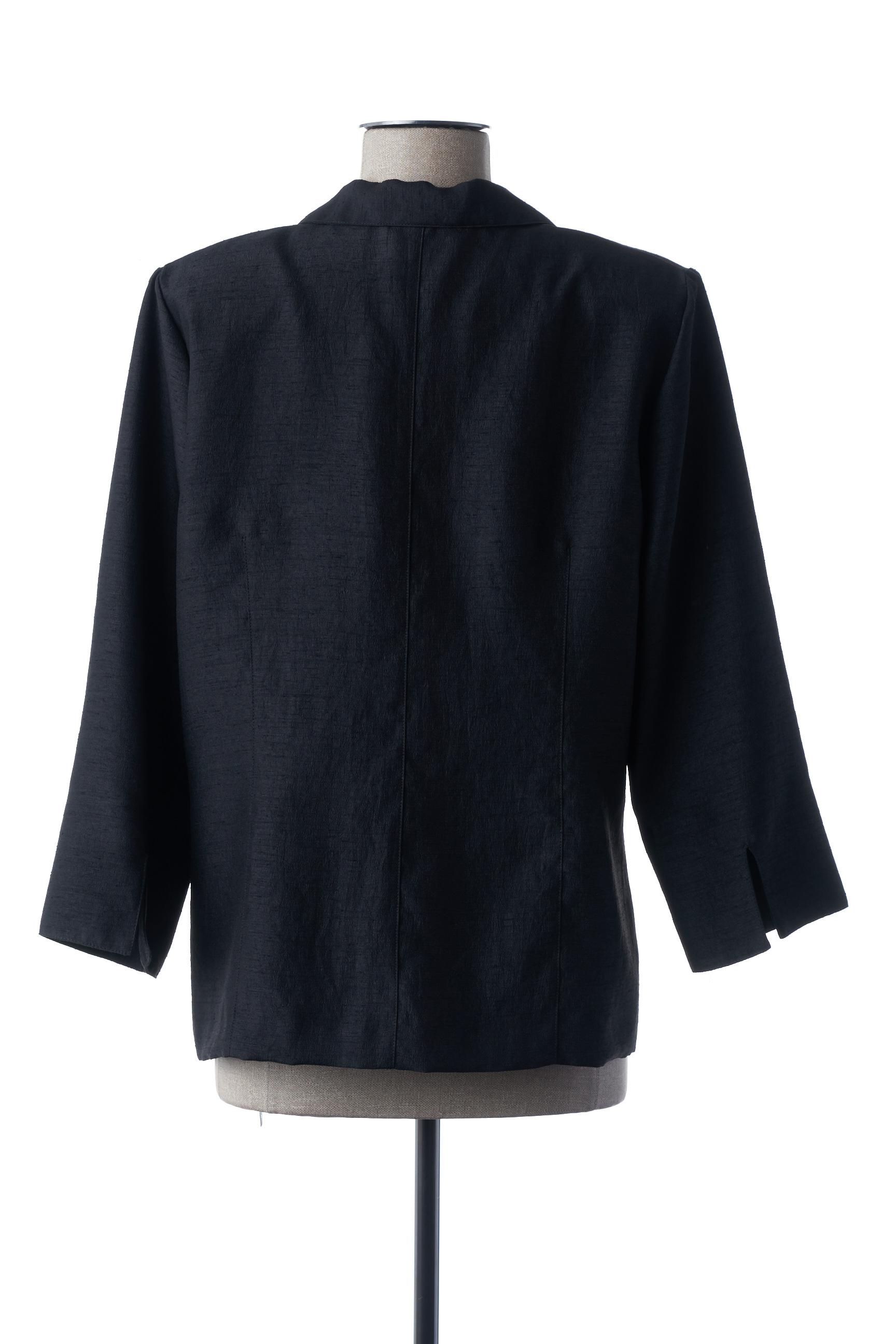 Gevana Vestechic Femme De Couleur Noir En Soldes Pas Cher 1450416-noir00
