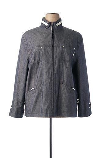 Veste casual bleu CENTER COAT pour femme
