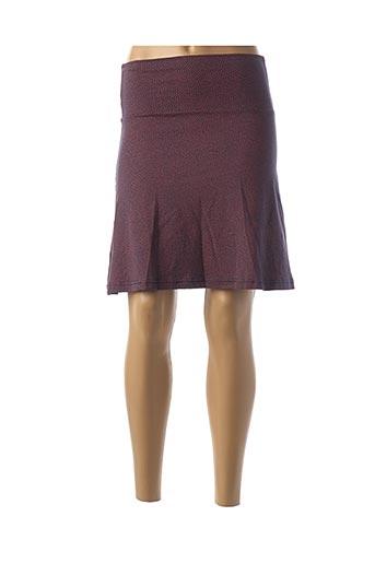 Jupe courte bleu TRANQUILLO pour femme