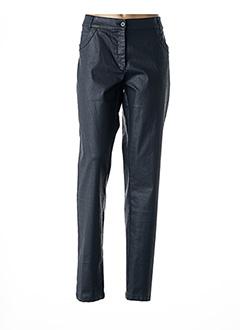 Pantalon casual noir AVENTURES DES TOILES pour femme
