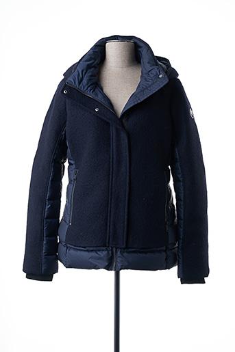 Manteau court bleu BEAUMONT pour femme