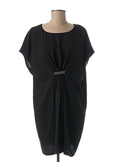 Robe courte noir TEDDY SMITH pour femme