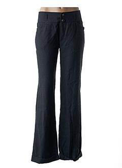 Pantalon casual gris TEDDY SMITH pour femme