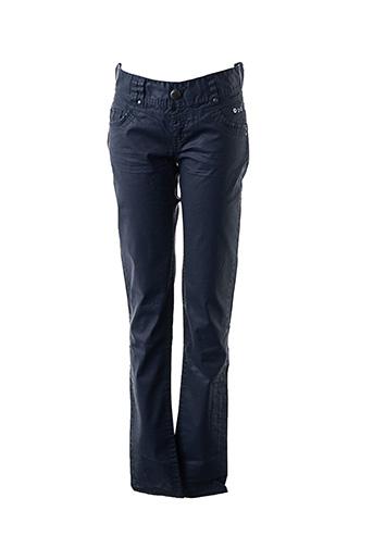 Pantalon chic bleu DDP pour femme