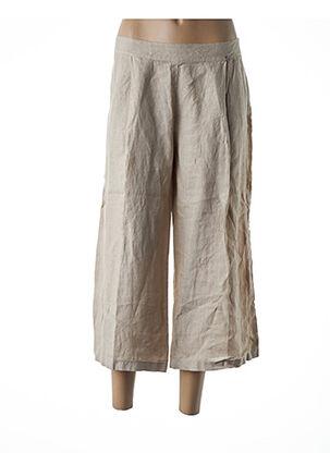 Pantalon casual beige ALAN RED pour femme