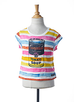 Produit-T-shirts-Fille-ANDY WARHOL BY PEPE JEANS