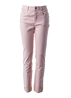 Pantalon 7/8 rose LOLA ESPELETA pour femme