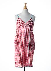 Robe mi-longue rouge LITTLE MARCEL pour fille seconde vue