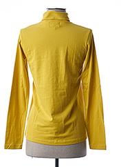 Sous-pull jaune LITTLE MARCEL pour fille seconde vue