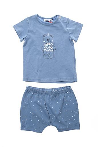 Top/short bleu NOUKIE'S pour enfant