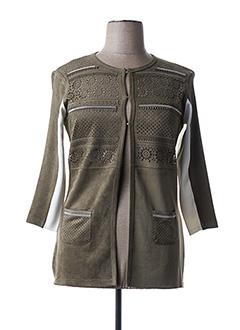 Veste casual vert FUEGO WOMAN pour femme