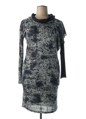 Robe mi-longue gris DIANA GALLESI pour femme