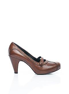 Escarpins marron XLR8 pour femme
