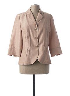 Veste chic / Blazer beige GUY DUBOUIS pour femme
