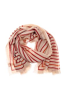 Foulard rouge BECK SONDERGAARD pour femme