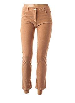 Pantalon 7/8 orange XT STUDIO pour femme
