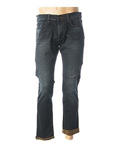 Jeans coupe droite bleu TAILORED & ORIGINALS pour homme