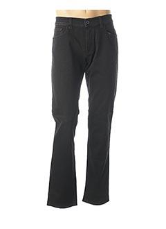 Jeans coupe slim noir HATTRIC pour homme
