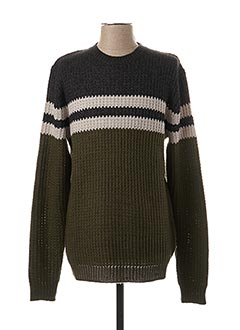 Pull col rond vert ONLY&SONS pour homme