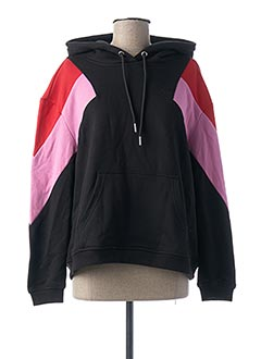 Sweat-shirt noir URBAN CLASSIC pour femme