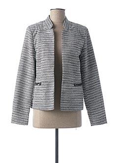 Veste chic / Blazer gris ONLY pour femme