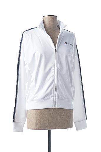 Veste casual blanc CHAMPION pour femme