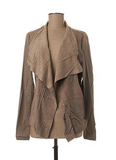 Veste casual gris GIPSY BY MAURITIUS pour femme