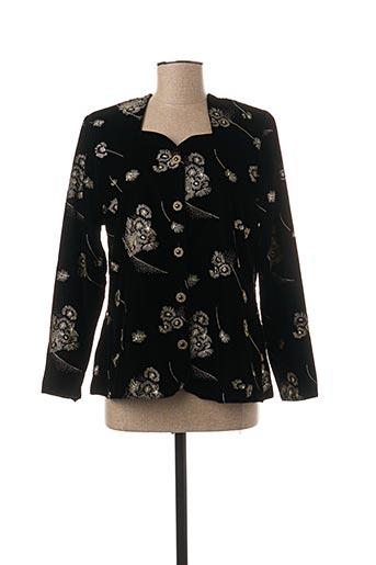Veste casual noir FOSBY pour femme