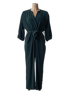 Combi-pantalon vert EMABLUES pour femme