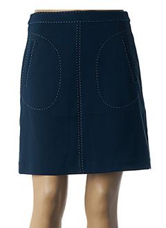 Jupe courte bleu NICE THINGS pour femme