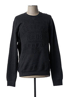 Sweat-shirt gris LEE COOPER pour homme