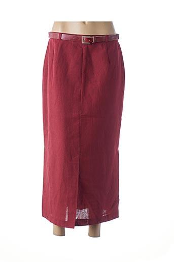 Jupe longue rouge HUCKE WOMAN pour femme