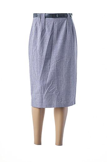 Jupe mi-longue violet HAMMER pour femme