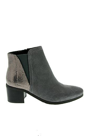 Bottines/Boots gris FUGITIVE pour femme