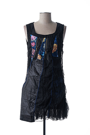 Robe courte noir VIRGINIE & MOI pour femme