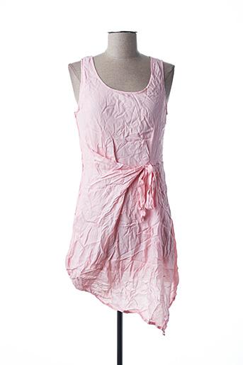 Robe courte rose VIRGINIE & MOI pour femme