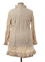 Veste casual beige L33 pour femme seconde vue