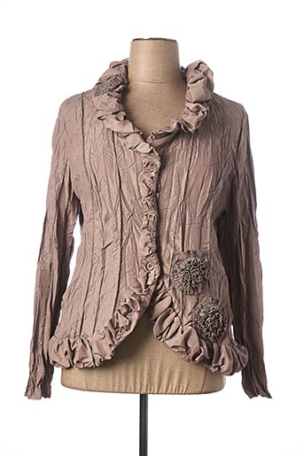 Veste chic / Blazer marron L33 pour femme