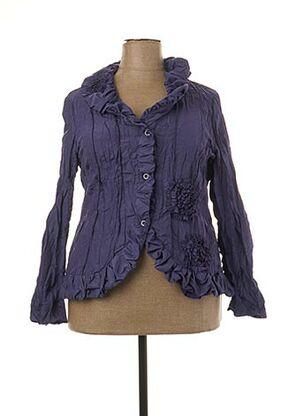 Veste chic / Blazer violet L33 pour femme