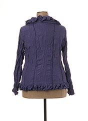 Veste chic / Blazer violet L33 pour femme seconde vue