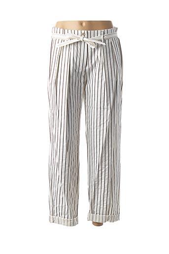 Pantalon casual marron TEENFLO pour femme