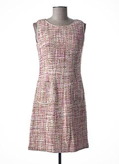Robe courte rose TEENFLO pour femme