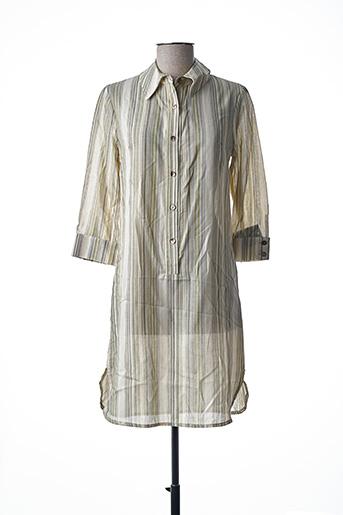 Robe courte vert TEENFLO pour femme