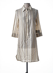 Robe courte beige TEENFLO pour femme seconde vue